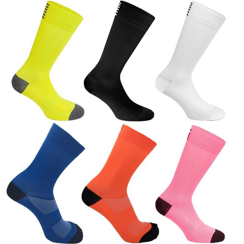 Çorap Bisiklet Sock Koşu Erkekler Bisiklet Çorap Diz Yüksek Sporlar