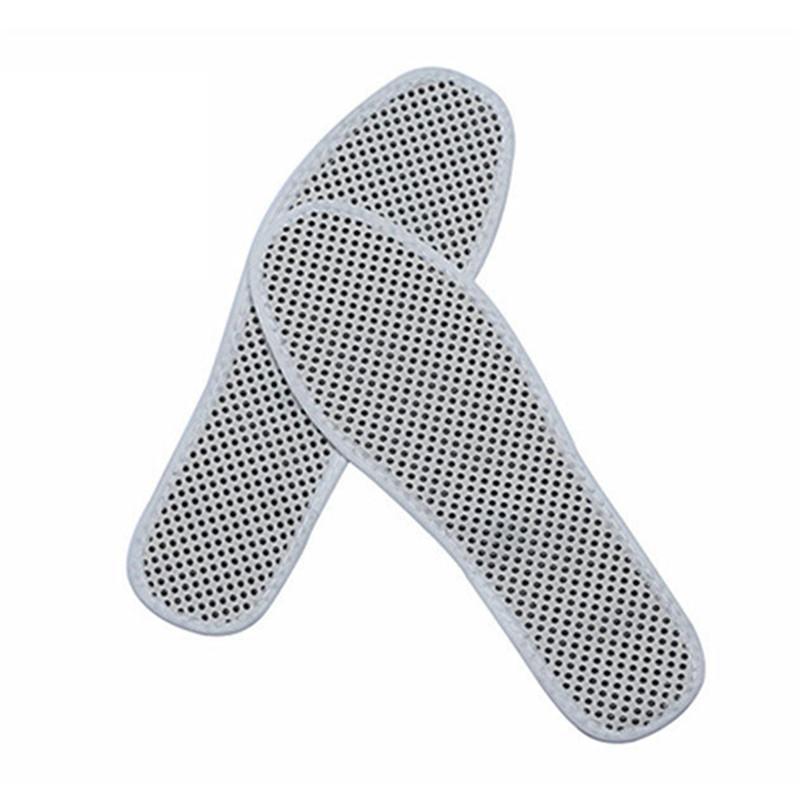 Sağlık Unisex 1 Çifti Otomatik Isıtmalı Ayakkabı tabanlık Kış Manyetik Terapi Taban Açık Kayak Bisiklet Isıtma Sıcak tabanlık
