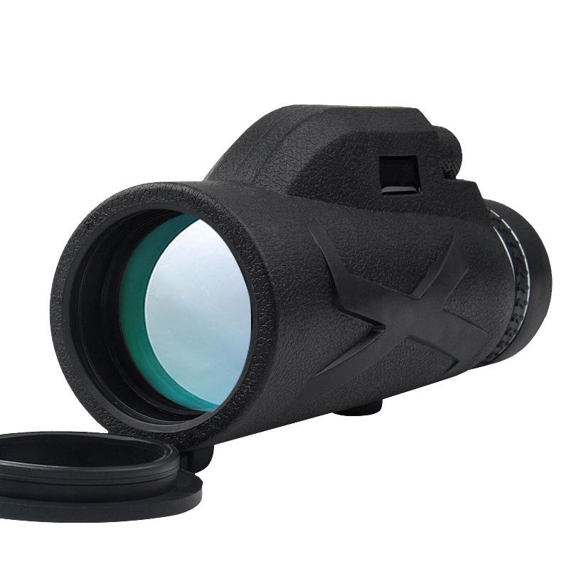 80x100 Zooms Monocular portátil Prism alta definição telescópio telemóvel Optical SER88