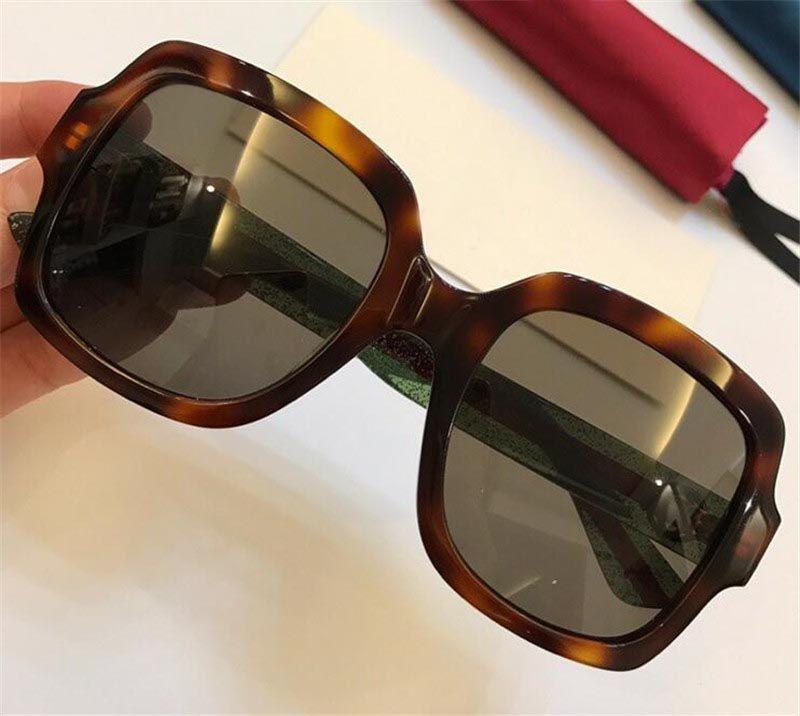 Роскошь-новая мода продажи женщин дизайнер солнцезащитные очки квадратная рамка высокое качество популярные щедрый и элегантный стиль 0036 uv400 защиты