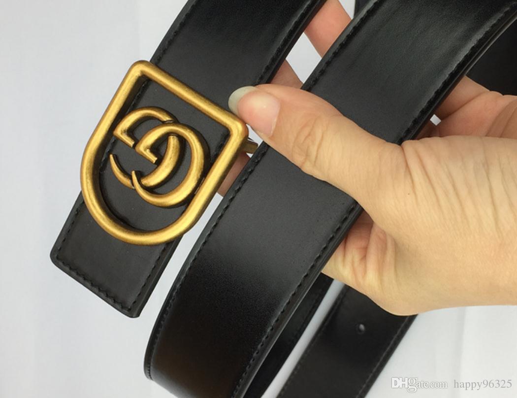 Fashion Automatic Buckle Designer Belts Men High Quality Business Leather Belt