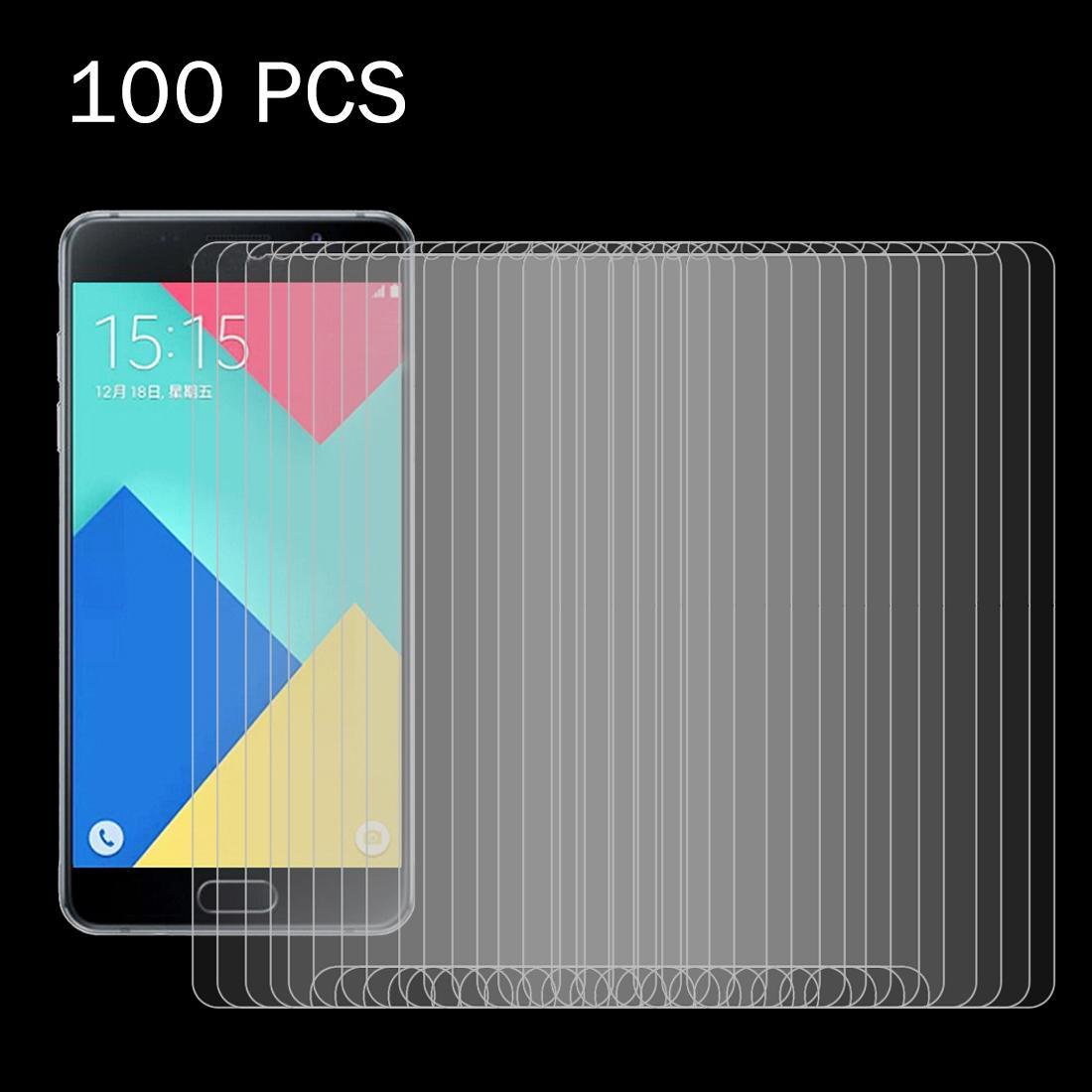100 PCS pour Galaxy A7 / A710 0.26mm 9H Surface Dureté 2.5D Antidéflagrant Film écran en verre trempé