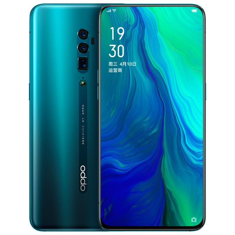 "Original OPPO Reno 10X 4G LTE-Handy 6 GB RAM 128 GB 256 GB ROM Snapdragon 855 Octa-Core Android 6.6"" 48MP NFC Fingerabdruck-ID-Handy"