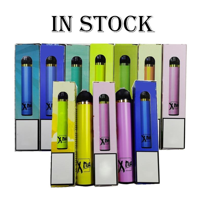 XTRA Tek Vape Kalem Xtia Kartuşları ambalaj Cihaz Pil 5ml Başlangıç Kiti Cihaz Vaporizer Kartuşları Bakla E Cigs Buhar In Stock