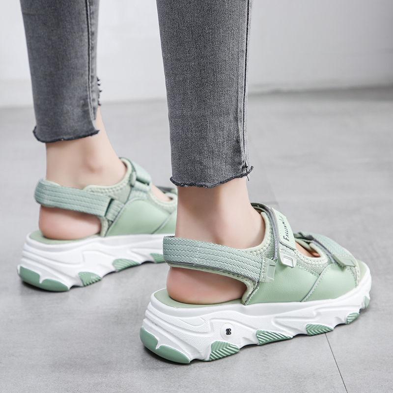 2020 L обувь спортивные сандалии женская летняя сеть hong chao Fire Fashion Dad сандалии