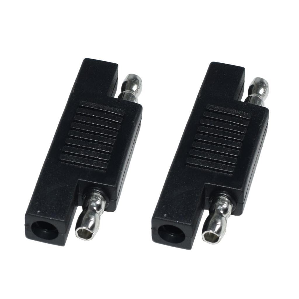 Confezione da 2 Solar SAE polarità d'inversione connettori per Maintainer