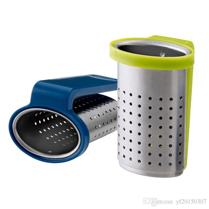 Tetera del colador del té del infusor del infusor del filtro del infusor de la cuchara del té del acero inoxidable