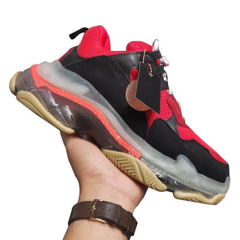 Qualitäts-Frauen Art und Weise Luxus-Designer-Schuhe Turnschuhe Modische Triple S Sneakers Damen Sportschuhe Outdoor-Größe 35-40