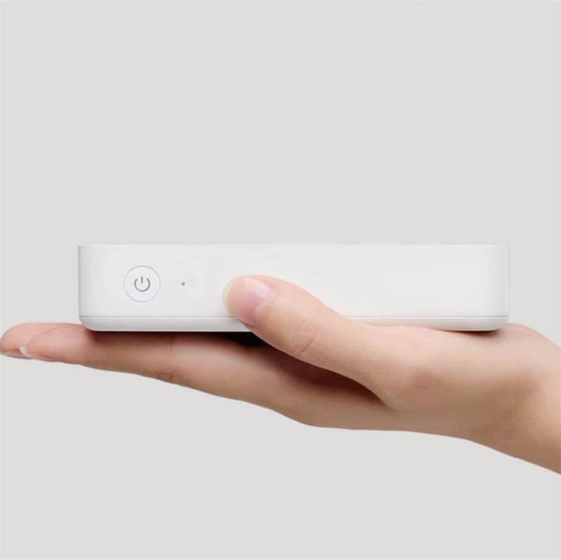 Stampante fotografica Telefono cellulare Stampante fotografica Mini NFC Bluetooth Ad alta definizione AR Foto 1670 Stampante wireless a colori per Android-IOS