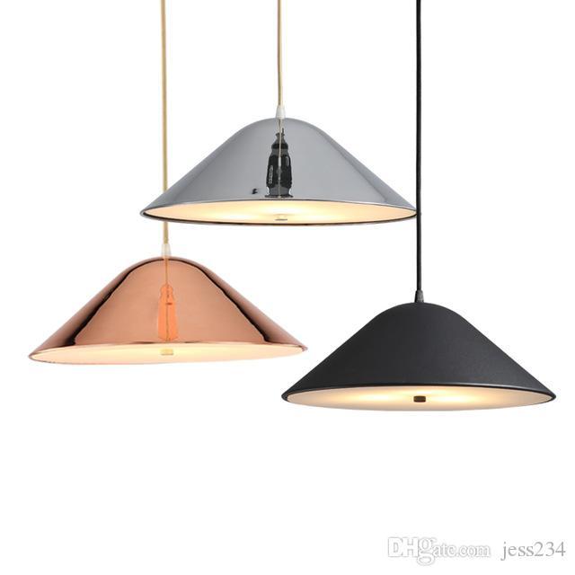 Nórdicos Retro luces colgante para comedor Cocina Lampadario metal de la vendimia Lámpara colgante cubierta Luminaria Cuerpo de iluminación