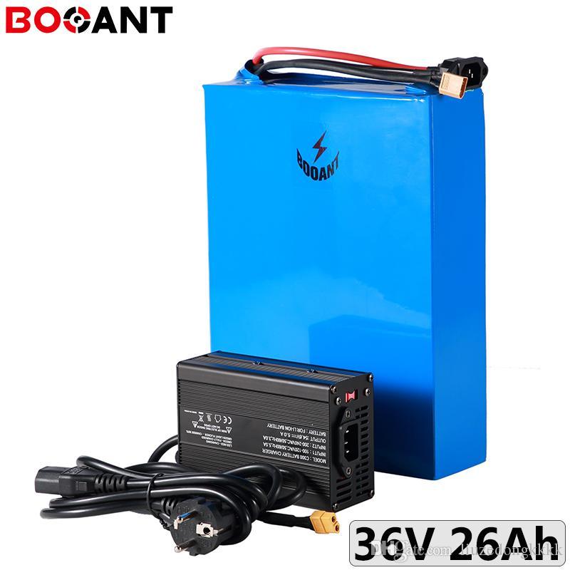 10S 10P 36V 26Ah 500W 750W batterie de vélo électrique 18650 36V 1000W 1500W ebike batterie Li-ion libre d'impôt au chargeur UE US + 5A