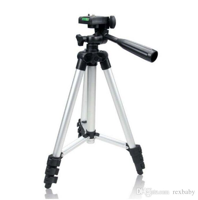 Weifeng WT-3110A 4 أقسام المحمولة ترايبود يقف خفيفة الوزن العالمي لكاميرا فوجي كانون سوني نيكون مع حقيبة