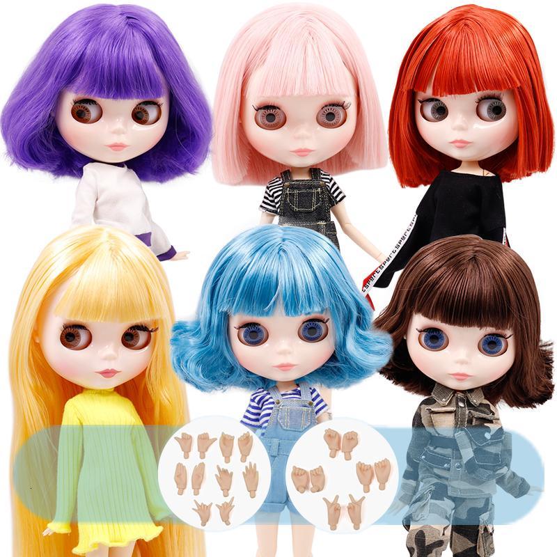 No.1 ICY muñeca DBS Blyth piel de la cara blanco brillante cuerpo de la junta 1/6 BJD precio especial de juguete de regalo jerryberry Licca