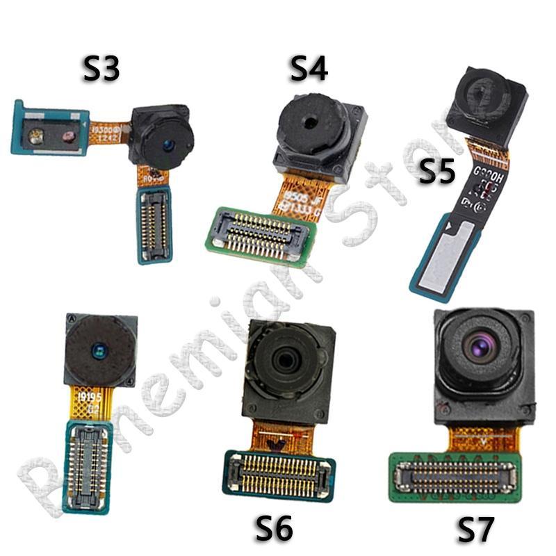 10psc flexión de la cámara para Samsung Galaxy S3 S4 S5 S6 S7 Mini borde de la cara frontal de la cámara Flex