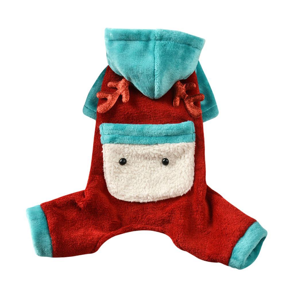 Petit Chien Bichon Vêtements Chihuahua Vêtements d'hiver chaud Outfit Apparel
