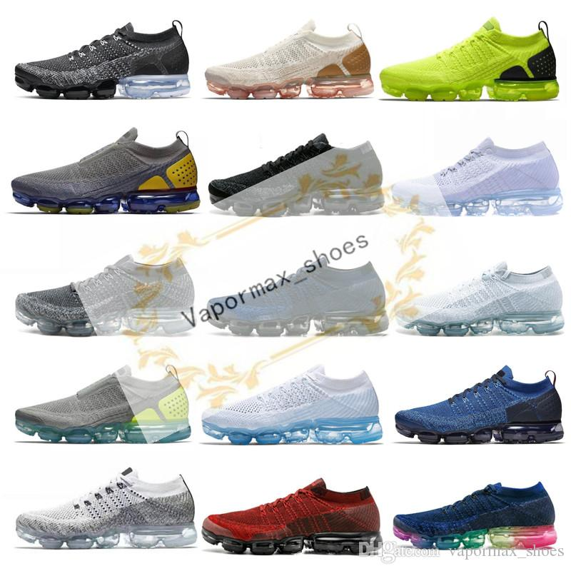 Aire de punto 2.0 3.0 zapatos corrientes del mens Triple Negro Volt Runner Zapatos Tigre Cebra gimnasio Mujeres transpirable jogging la zapatilla de deporte al aire libre Deportes