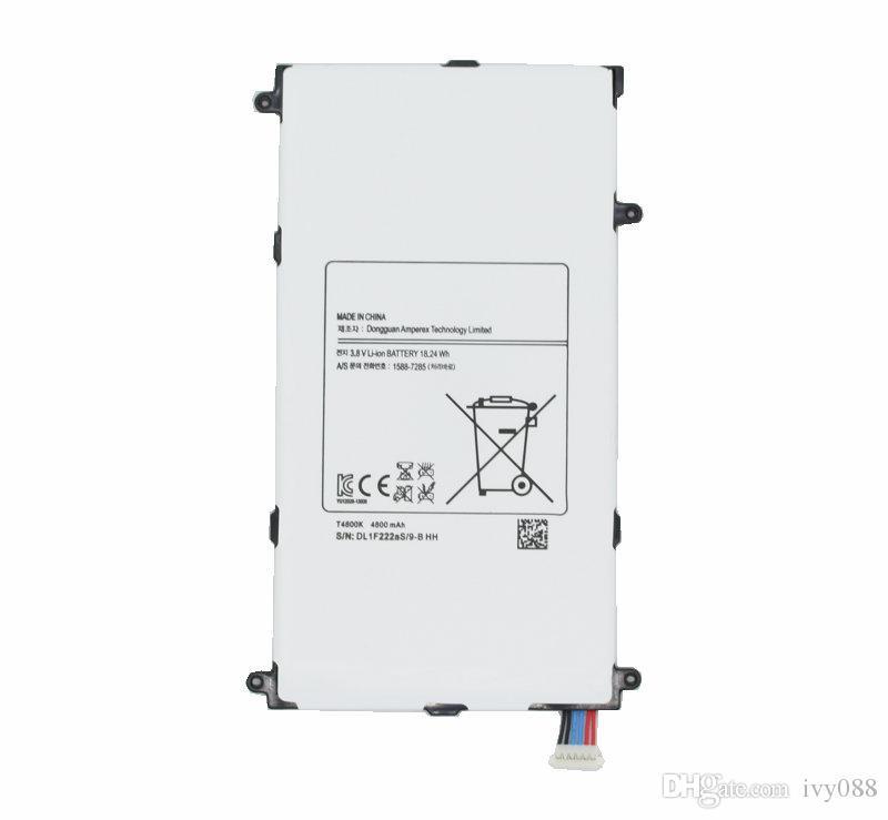 "1x 4800mAh T4800E استبدال البطارية لسامسونج جالاكسي تاب برو 8.4 بوصة 8.4 ""T320 T321 T325 SM-T320 SM-T321 SM-T325"