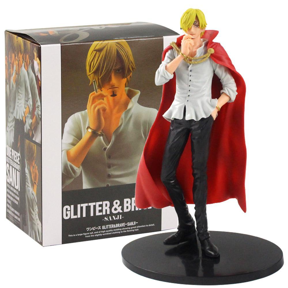 Аниме One Piece Санджи блеск храбрый Vinsmoke Санджи ПВХ фигурку коллекционная модель игрушка кукла подарки
