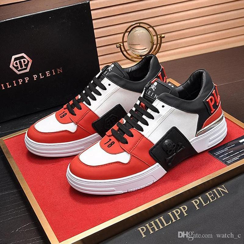 2020 Philipp Plein Qp Mens Shoes