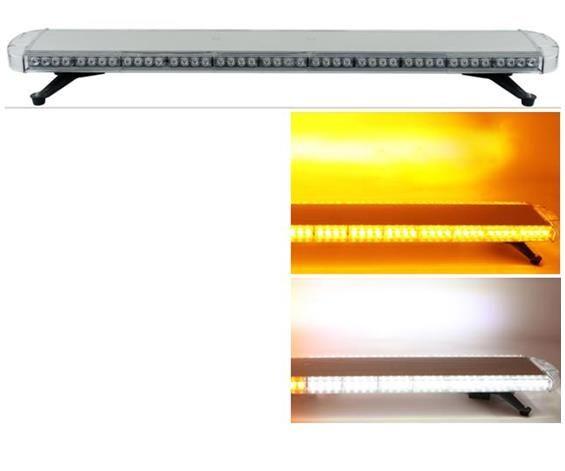 Trasporto libero 130mm / 51 pollice alto tetto luminoso auto car flash strobe lightbar ambra camion di rimorchio lightbar heavy duty strobe lightbar light bar