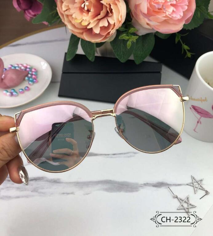 Лето D10 письма женские дизайнерские солнцезащитные очки женщина Cat Ear Design Goggle солнцезащитные очки UV400 2322 2 цвет отличное качество с коробкой