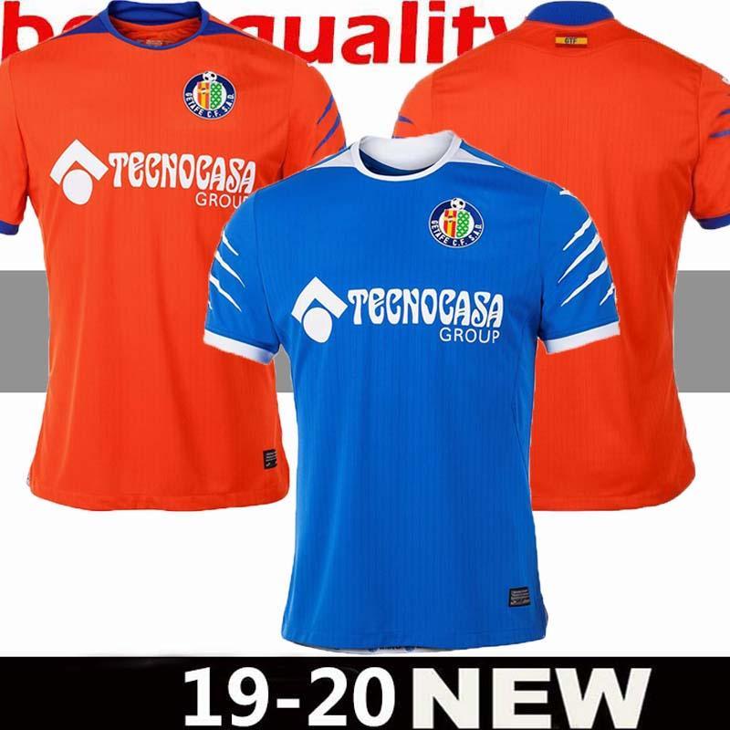 19 20 Getafe Futbol Formalar HUGO MOLINA 2019 2020 Getafe Futbol Gömlek PORTILLO MATA MELEK Futbol Gömlek Camiseta de fútbol Maillot