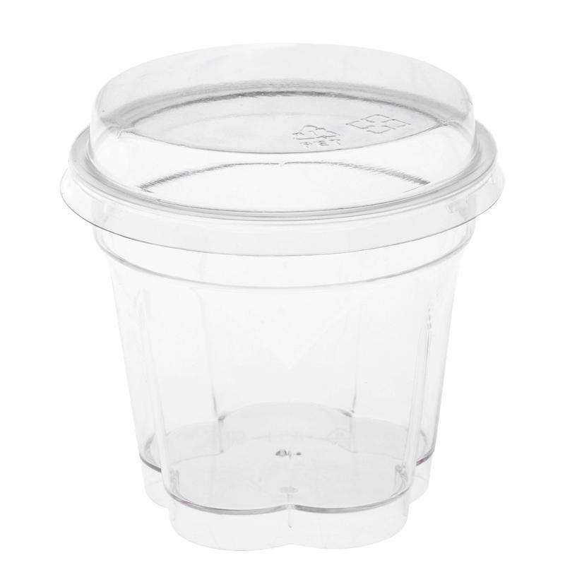 10 Conjuntos Mini Sobremesa Cups aperitivo Bowls Spoons restauração materiais Tasting Óculos Parfait Tumblers para Cake Shop Restaurant