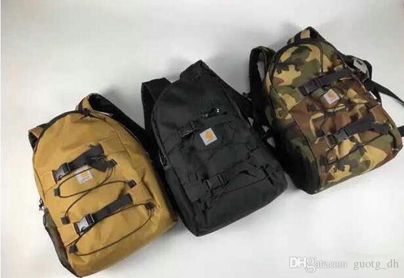 Nuovi uomini e donne Sport tempo libero nylon wear Resistente borsa per gli studenti shopping outdoor trekking zaino alla moda