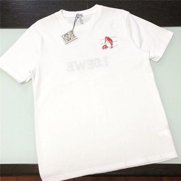 20FW Lüks Marka KD Tişört Tasarımcı Tişört Basit Erkek Kadın Tişört Polo Kısa Kollu Mürettebat Boyun Tee Yelek 3.8