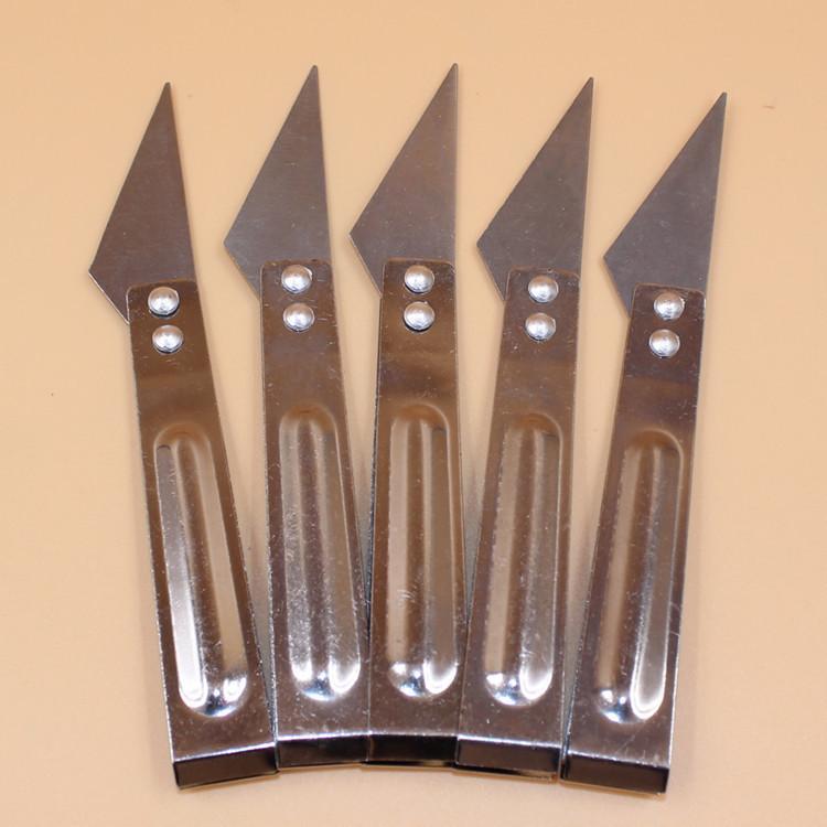 Atacado de cozinha necessidades diárias com pele de porco de aço inoxidável Clipe de pato pena clipe faca e faca de Clip