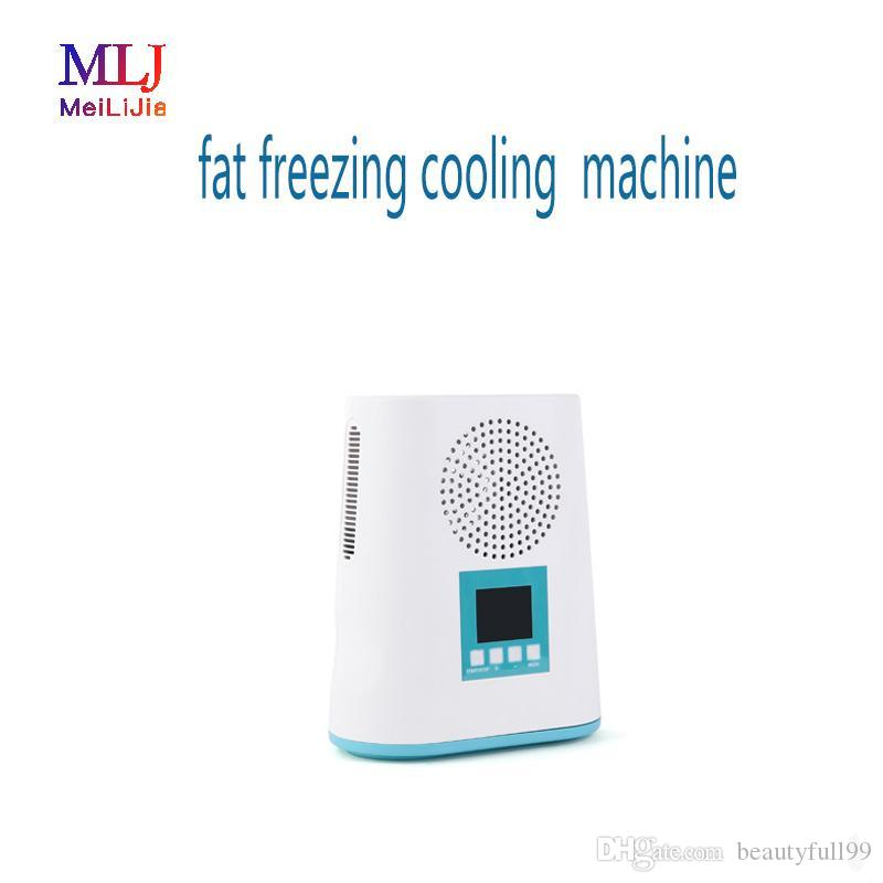가정용 및 살롱을위한 바디 슬리밍 캐비테이션 기계 냉동 2019 무료 배송 한국 휴대용 한 Cryolipolysis 지방