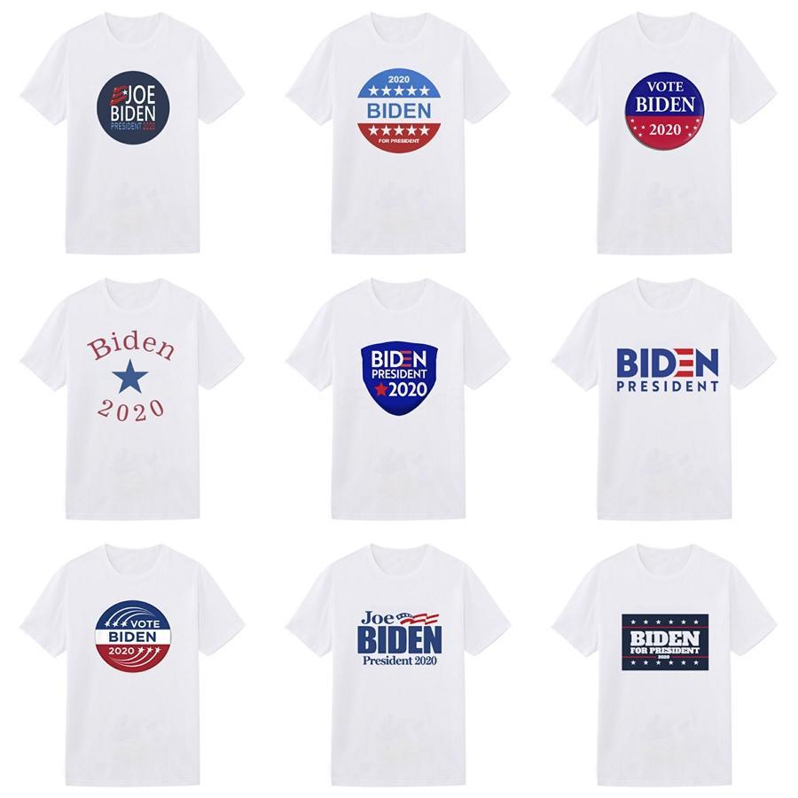 2020 progettista delle camice Mens di modo di marca maglietta estate causali Top manica corta T Mens Abito firmato S-3XL Biden maglietta casuale 06 # 448