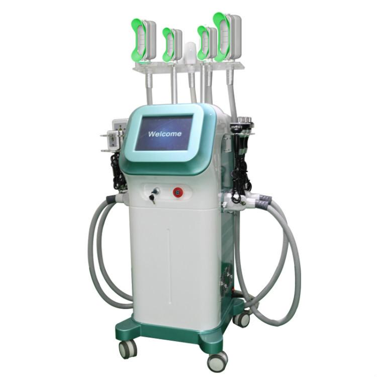 9 в 1 машины замораживания cryolipolysis тучное тело уменьшая машину для липолиза Cryo 360 градусов мини-жира замораживания похудения машина