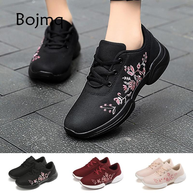 Bojmq Tenis Feminino Zapatos Mujer 2020 New arrived Female Morning Jogging Sport Shoes Trainers Lady Sneakers Women Tennis Shoes