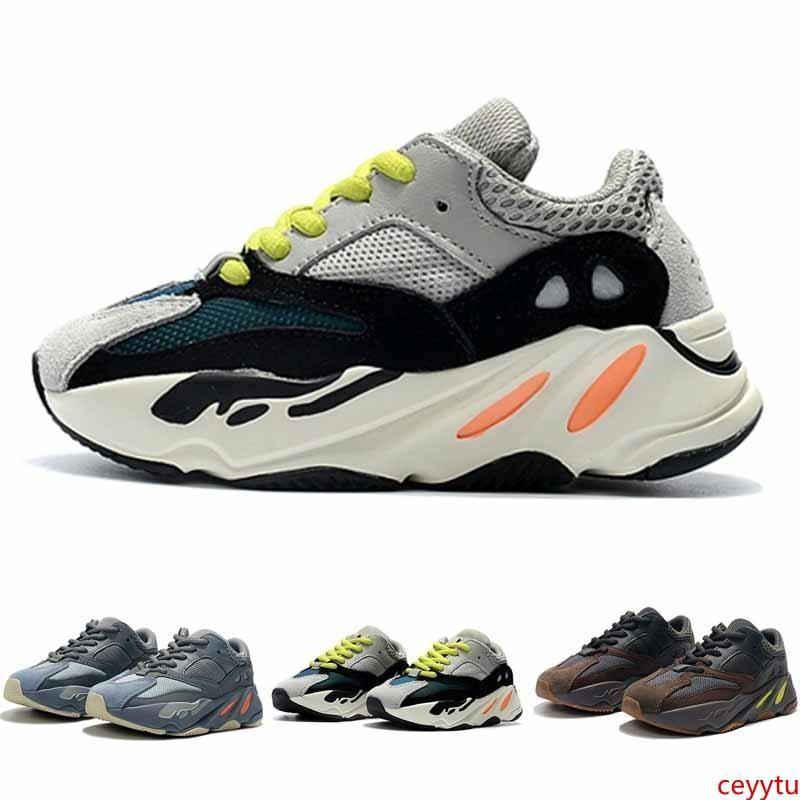 Kids Shoes corredor da onda 700 Kanye West Running Shoes Boy Girl sapatilha sapata do esporte crianças sapatos atléticos com