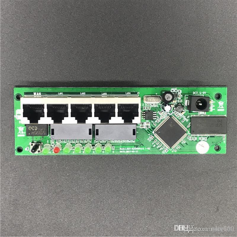 прямая продажа дешевой проводной Распределитель модуль маршрутизатора 5-портовый производитель OEM 5-портовый маршрутизатор