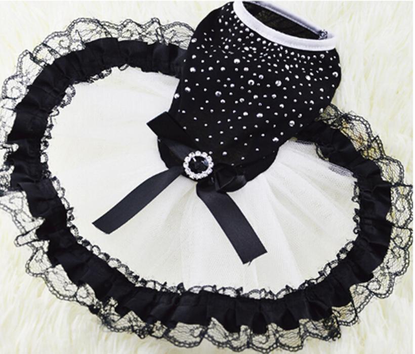Hund Tutu-Kleid-Spitze-Kleid Nette Haustier-Katzen-Prinzessin-Kleid-Kleidung-Partei-Kleid für Hunde
