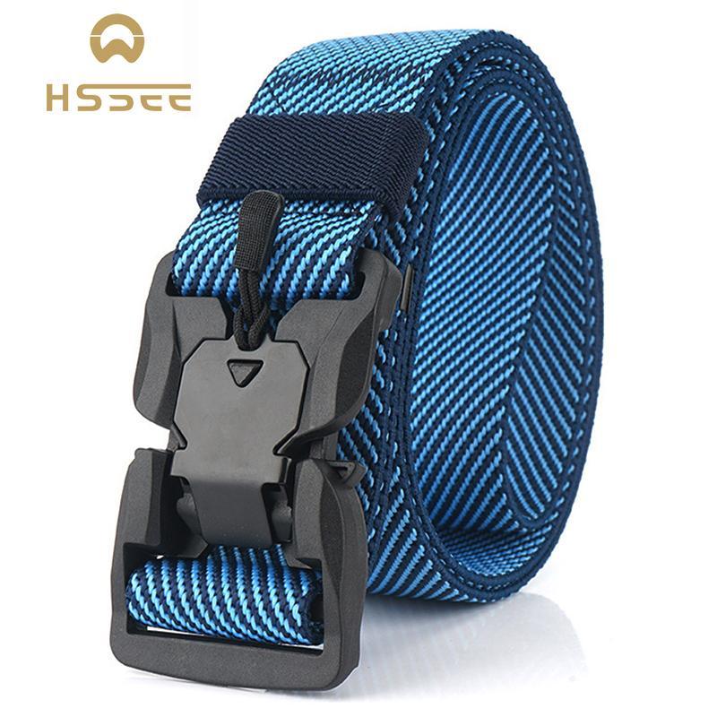 HAPIGOOD Kids Toddler Adjustable Elastic Belt with Easy Magnetic Buckle