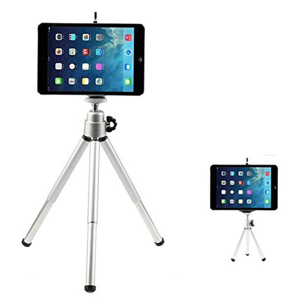 الهاتف المحمول SLR كاميرا رقمية مصغرة ترايبود مصغرة العرض سطح المكتب مثلث قوس سبائك الألومنيوم اثنين