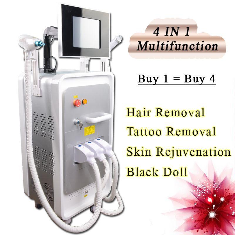 IPL profesional rejuvenecimiento con láser máquina de elevación cara RF retiro de la peca de arrugas IPL Super Hair Removal