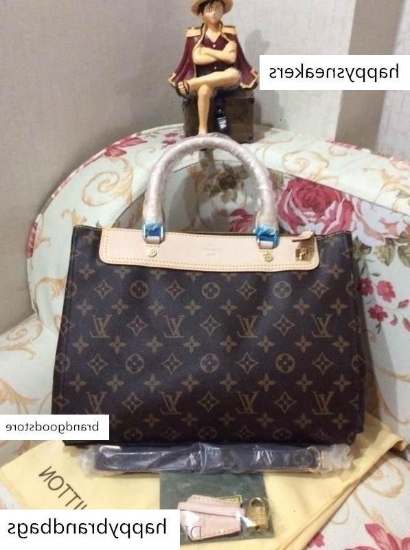 2019 M41337 Klasik Lady Çanta Alışveriş Çantası Hobo Çantalar Üst Boston Çapraz Vücut Messenger Omuz Çantaları Kolları