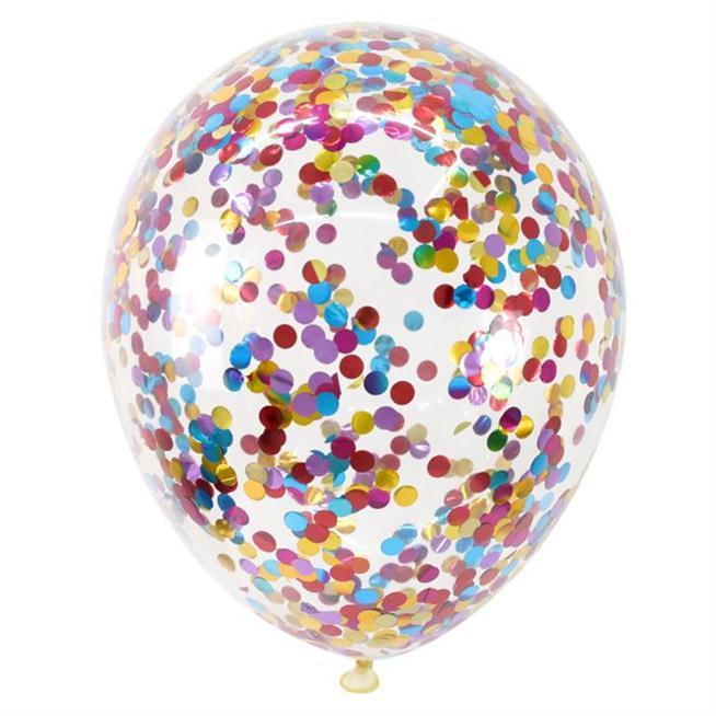 Articoli per feste di nozze 12inch coriandoli Palloncini Cancella partito Ballons Decoration dei bambini del capretto festa di compleanno Air Ballon Giocattoli
