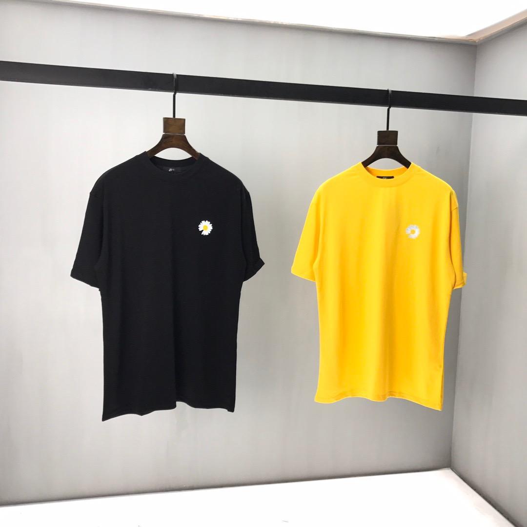 2020ss printemps et en été nouveau T-shirt panneau col rond manches courtes en coton impression de haute qualité Taille: m-l-TG-TTG-XXXL Couleur: blanc noir x7vc