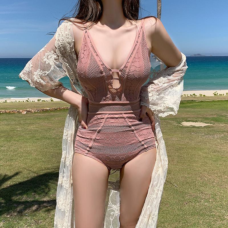 Bikini Swimsuit New Prof DOEP CUT OUT Out Piece Swimwear para las mujeres delgadas y del vientre cubierto de bikini abierto