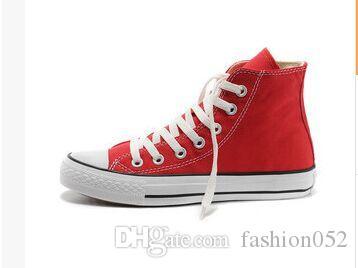 Hot SELL Brand New 14 Couleurs Tous Taille 36-44 Haut Haut sport stars Bas Bas Classique Toile Chaussures Sneakers Chaussures de sport pour hommes