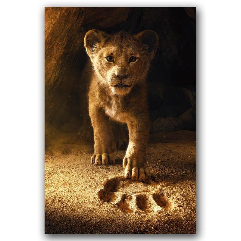 The Lion King Wall Art Canvas Print Canvas Painting 30x45 Decorative Picture Wallpaper Living Room Decor