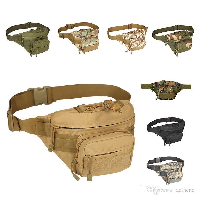 Équitation en extérieur Taille randonnée sac de sport valise Voyage design de luxe fannypack sac taille sport Fermer poches Accessoires Kit Portable