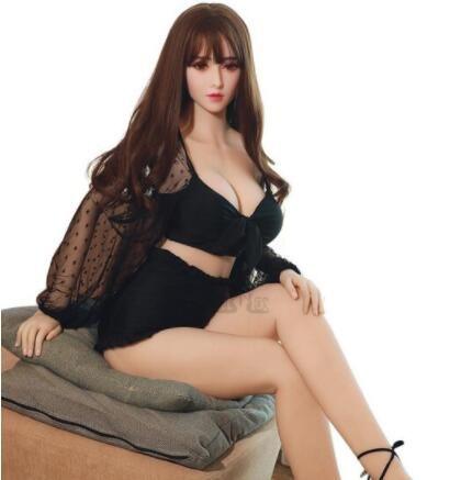 De silicona caliente TPE muñeca del amor Maniquí adulto oral Vagina Sexo anal Sexy Love Juguetes para Hombres de mama y el Big Culo realista 148cm 158cm 140cm