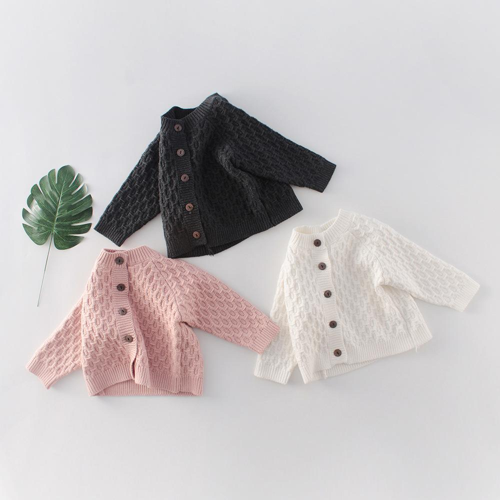 5416 New Spring Autumn Baby Girls Boys Sweater Long Sleeve Knitted Cardigan  Outwear Kids Babies Sweater Coat Baby Girl Cardigan Sweater Girls Cardigans  Shrugs From Spinach18, $49.85| DHgate.Com