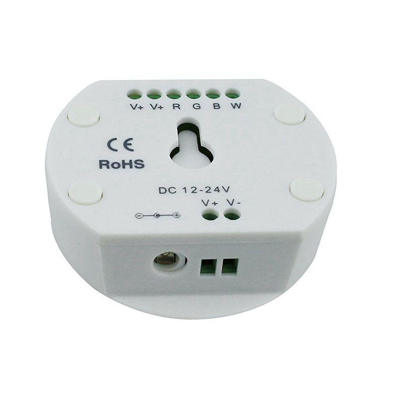 DC12-24V RGB RGBW Bluetooth 16 milhões de cores Android LED controlador de temporização Função Modo de música Controle Grupo